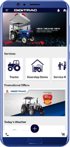 DIGITRAC APP FOR YOUR MOBILE